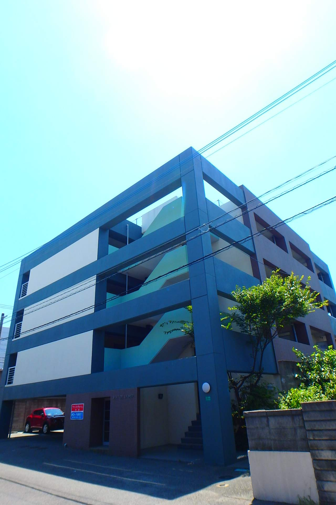 福岡県古賀市、千鳥駅徒歩21分の築20年 4階建の賃貸マンション