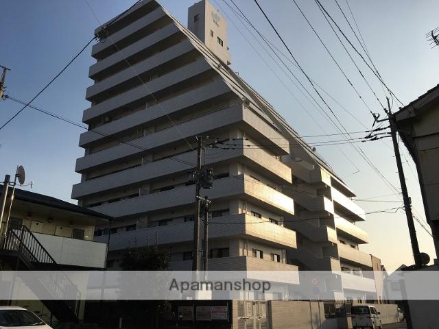 福岡県大牟田市、大牟田駅徒歩5分の築32年 11階建の賃貸マンション