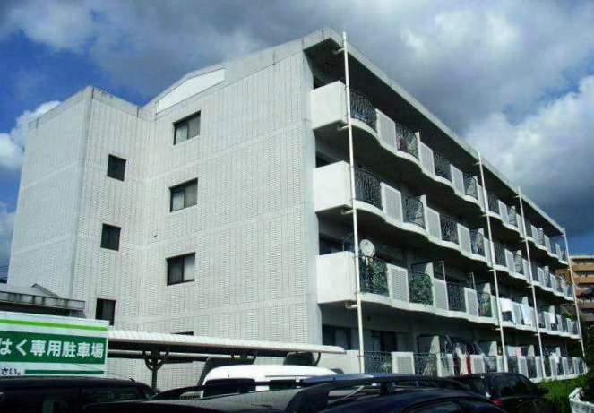 福岡県太宰府市、水城駅徒歩25分の築21年 4階建の賃貸マンション
