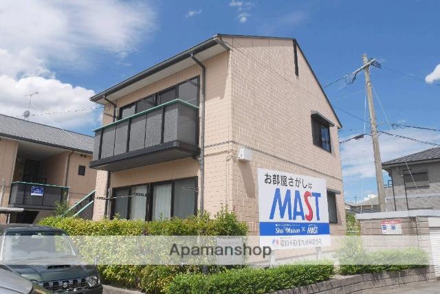 福岡県太宰府市、都府楼前駅徒歩8分の築18年 2階建の賃貸アパート