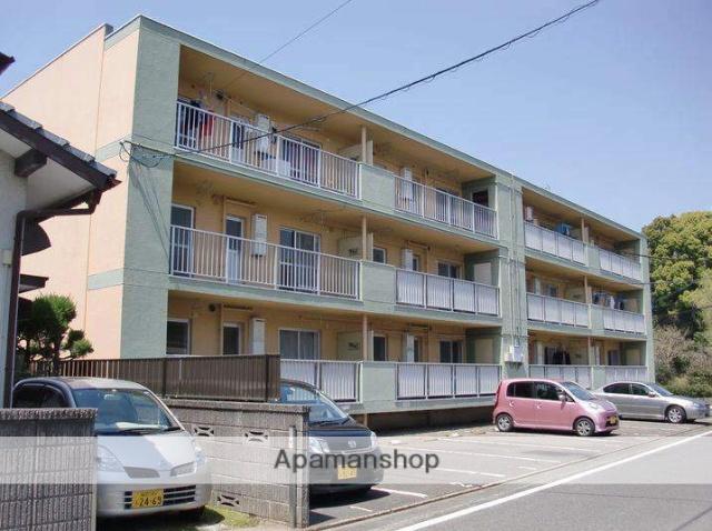福岡県太宰府市、都府楼南駅徒歩21分の築52年 3階建の賃貸マンション