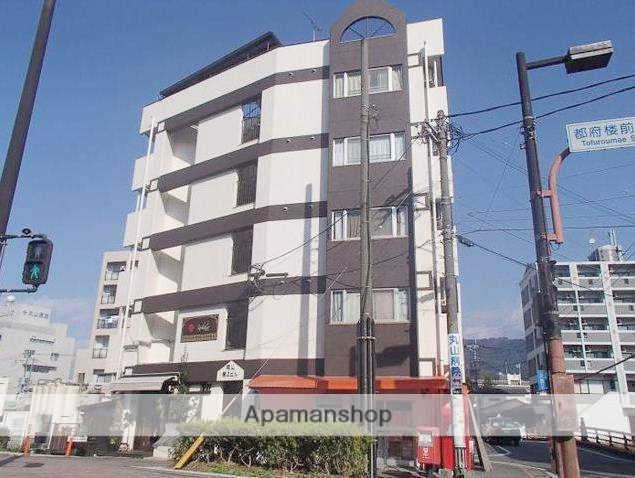 福岡県太宰府市、都府楼南駅徒歩16分の築26年 5階建の賃貸マンション
