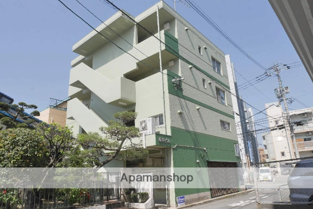 福岡県大野城市、大野城駅徒歩12分の築31年 4階建の賃貸マンション