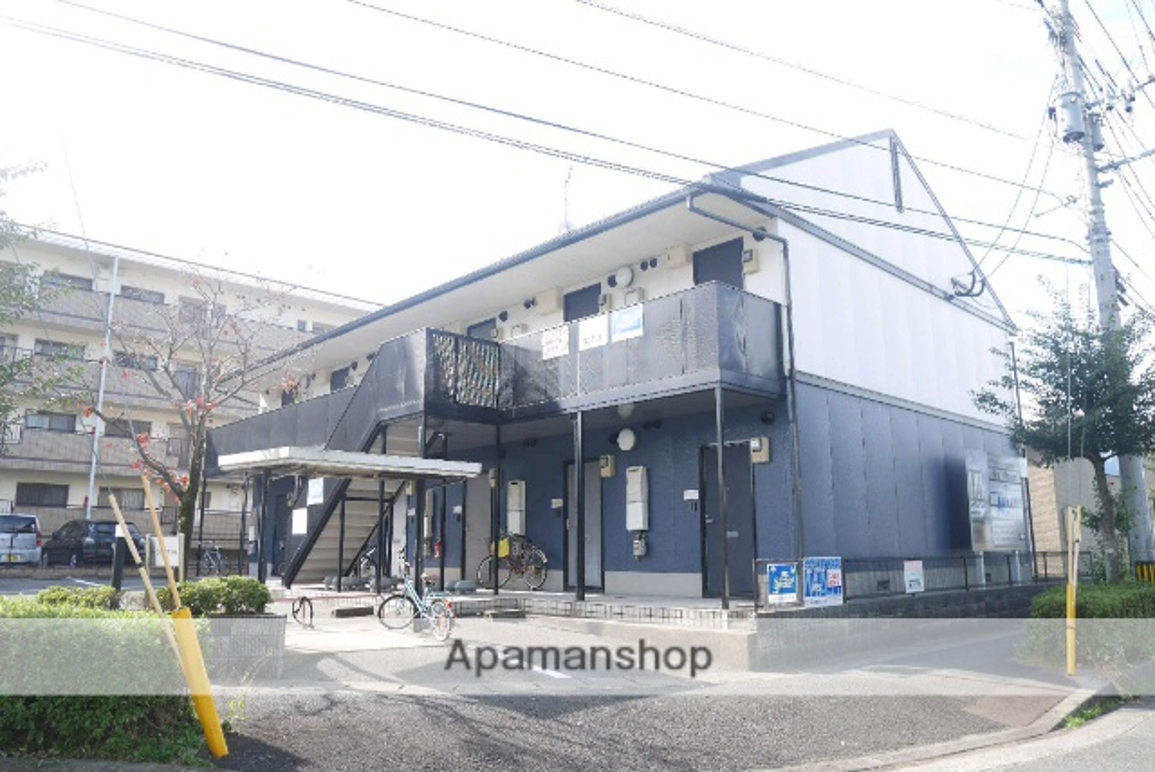 福岡県太宰府市、都府楼南駅徒歩16分の築19年 2階建の賃貸アパート