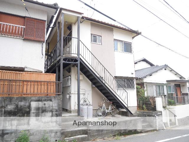 福岡県太宰府市、都府楼前駅徒歩17分の築36年 2階建の賃貸アパート
