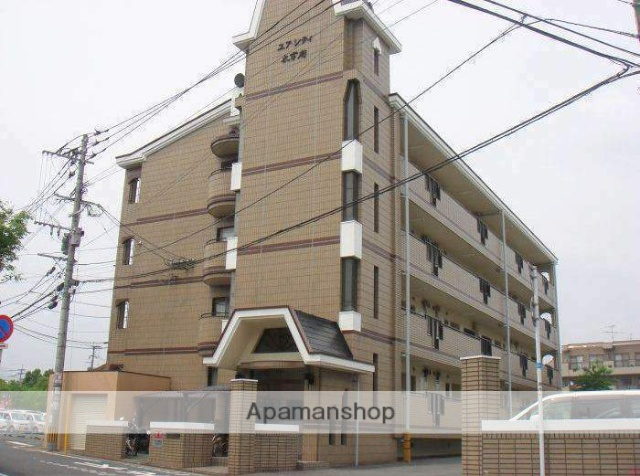 福岡県太宰府市、都府楼南駅徒歩15分の築27年 4階建の賃貸マンション