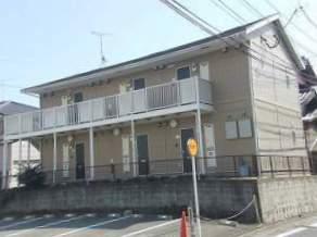 福岡県太宰府市、都府楼南駅徒歩13分の築17年 2階建の賃貸アパート