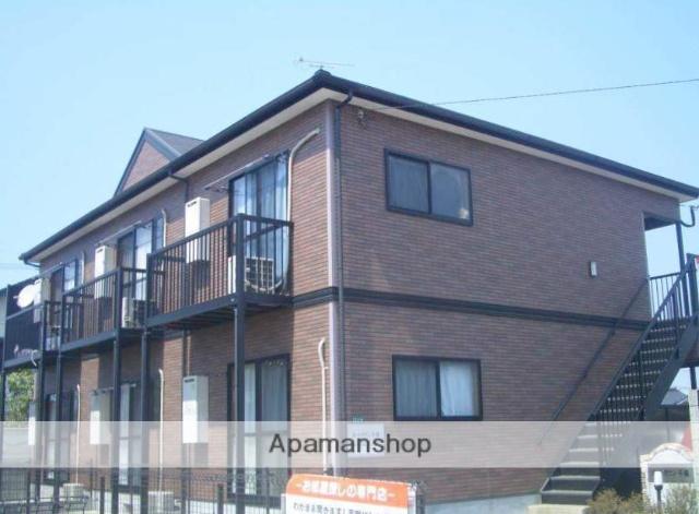 福岡県古賀市、千鳥駅徒歩4分の築15年 2階建の賃貸アパート