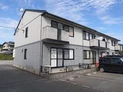 福岡県宗像市、教育大前駅徒歩38分の築18年 2階建の賃貸アパート