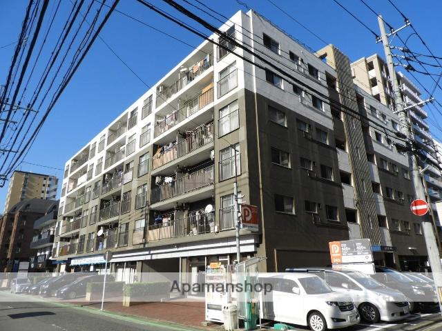 福岡県福岡市中央区、薬院駅徒歩13分の築41年 6階建の賃貸マンション