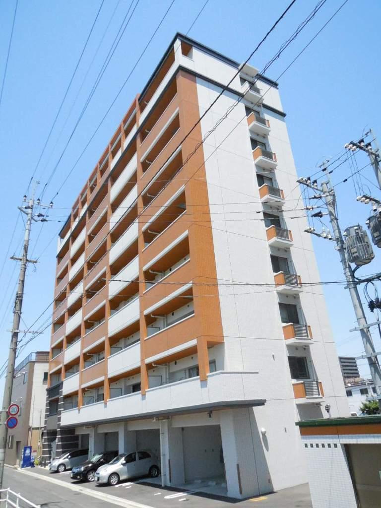 福岡県北九州市小倉北区、城野駅徒歩7分の築3年 9階建の賃貸マンション