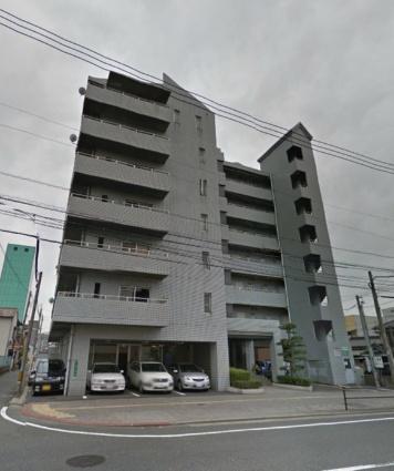 福岡県北九州市戸畑区、九州工大前駅徒歩20分の築31年 7階建の賃貸マンション