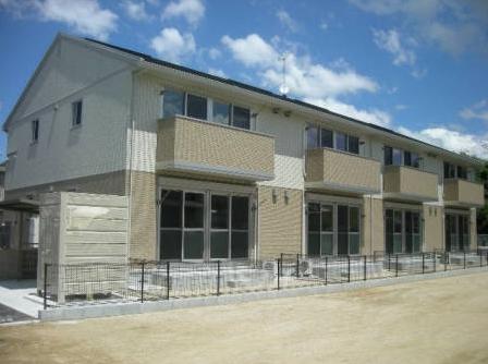 福岡県みやま市、渡瀬駅徒歩4分の築5年 2階建の賃貸アパート