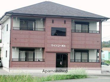 福岡県八女市、羽犬塚駅堀川バスバス12分鵜の池下車後徒歩2分の築19年 2階建の賃貸アパート