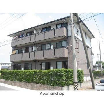 福岡県久留米市、試験場前駅徒歩19分の築18年 3階建の賃貸アパート