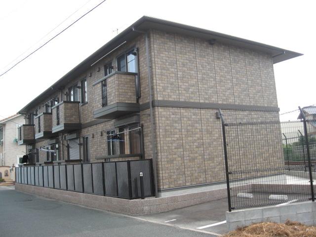 福岡県久留米市、試験場前駅徒歩28分の築12年 2階建の賃貸アパート