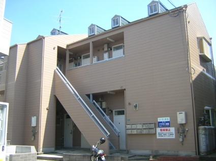 福岡県宗像市、教育大前駅徒歩20分の築24年 2階建の賃貸アパート