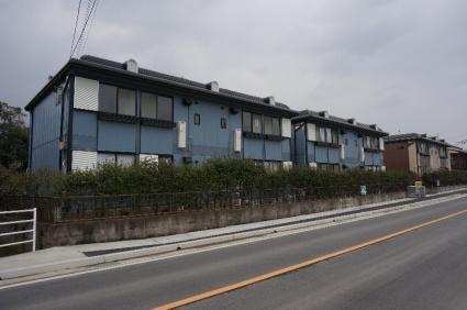 福岡県遠賀郡岡垣町の築22年 2階建の賃貸アパート