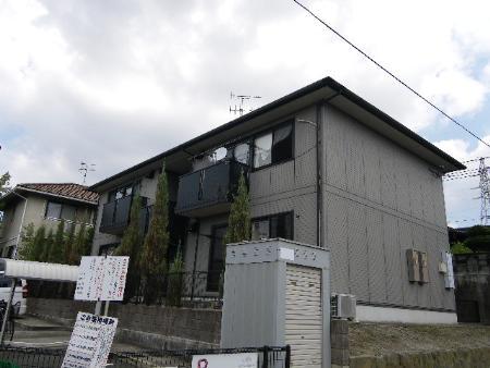 福岡県中間市、通谷駅徒歩9分の築15年 2階建の賃貸アパート