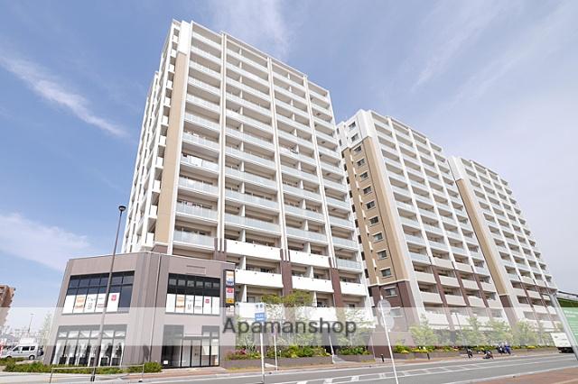 福岡県糟屋郡新宮町、ししぶ駅徒歩20分の築3年 14階建の賃貸マンション