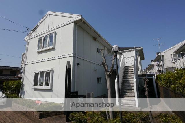 福岡県福岡市東区、奈多駅徒歩24分の築27年 2階建の賃貸アパート