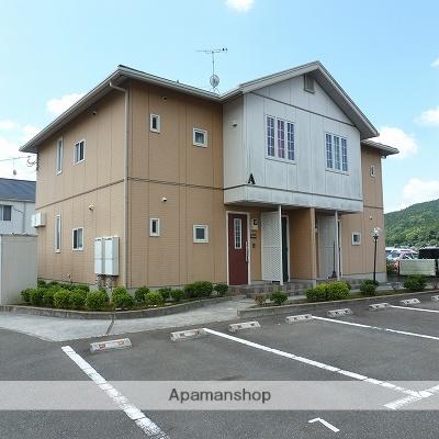 福岡県宮若市の築12年 2階建の賃貸アパート