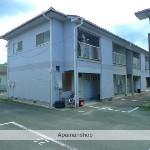 福岡県嘉麻市の築21年 2階建の賃貸アパート