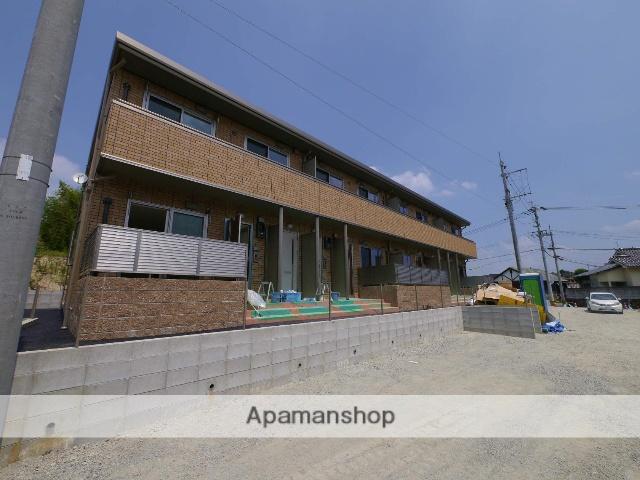 福岡県飯塚市、新飯塚駅徒歩29分の新築 2階建の賃貸アパート