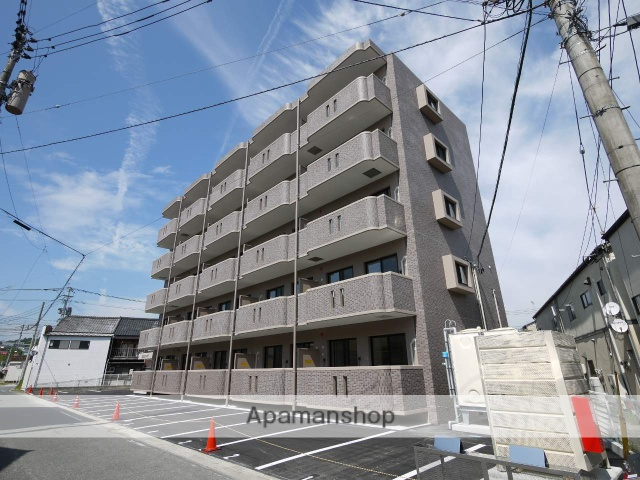 福岡県嘉麻市、新飯塚駅西鉄バスバス34分大橋下車後徒歩2分の新築 5階建の賃貸マンション