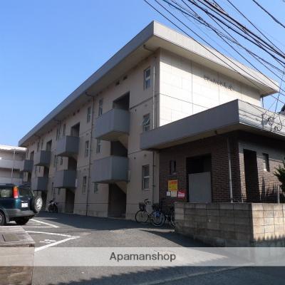 福岡県福岡市東区、九産大前駅徒歩3分の築34年 3階建の賃貸マンション