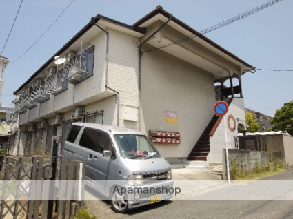 福岡県福岡市東区、九産大前駅徒歩16分の築35年 2階建の賃貸アパート
