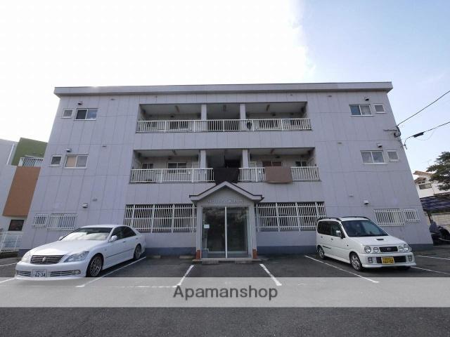 福岡県福岡市東区、九産大前駅徒歩11分の築28年 3階建の賃貸マンション