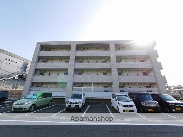 福岡県福岡市東区、九産大前駅徒歩12分の築28年 4階建の賃貸マンション