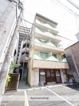 福岡県古賀市、千鳥駅西鉄バスバス12分古賀下車後徒歩3分の築27年 5階建の賃貸マンション