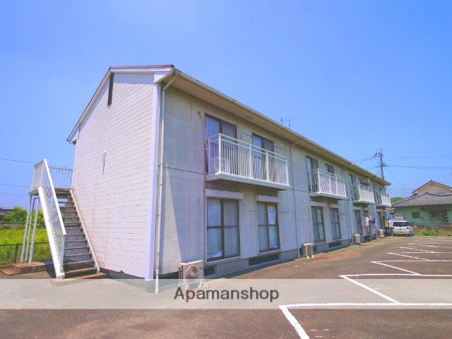 福岡県飯塚市、新飯塚駅徒歩14分の築26年 2階建の賃貸アパート