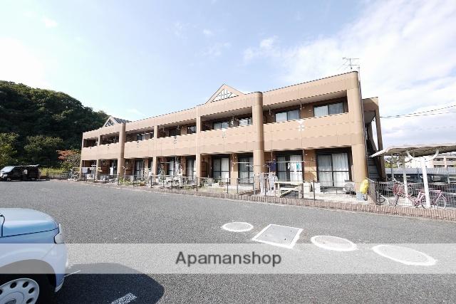 福岡県飯塚市、小竹駅徒歩23分の築9年 2階建の賃貸アパート