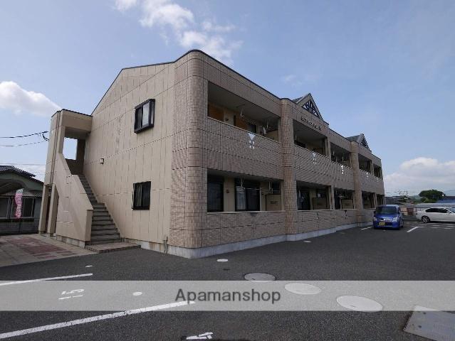 福岡県飯塚市、小竹駅徒歩24分の築8年 2階建の賃貸アパート