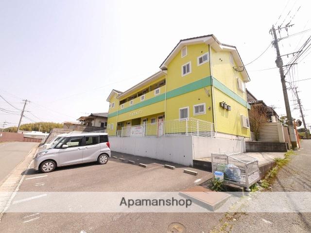 福岡県飯塚市、鯰田駅徒歩10分の築17年 2階建の賃貸アパート