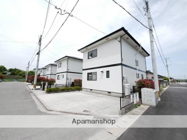 福岡県飯塚市、鯰田駅徒歩10分の築16年 2階建の賃貸テラスハウス