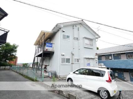福岡県飯塚市、新飯塚駅徒歩35分の築23年 2階建の賃貸アパート