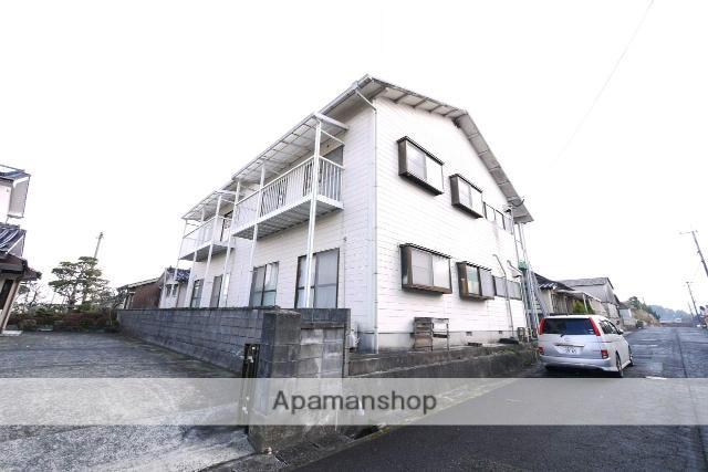 福岡県嘉麻市の築39年 2階建の賃貸アパート