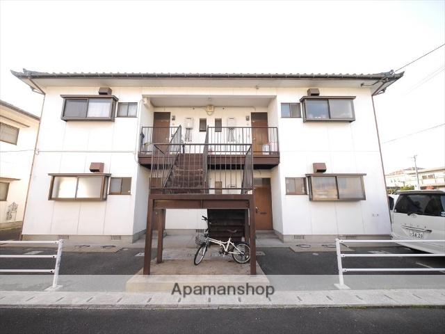 福岡県飯塚市、鯰田駅徒歩8分の築24年 2階建の賃貸アパート