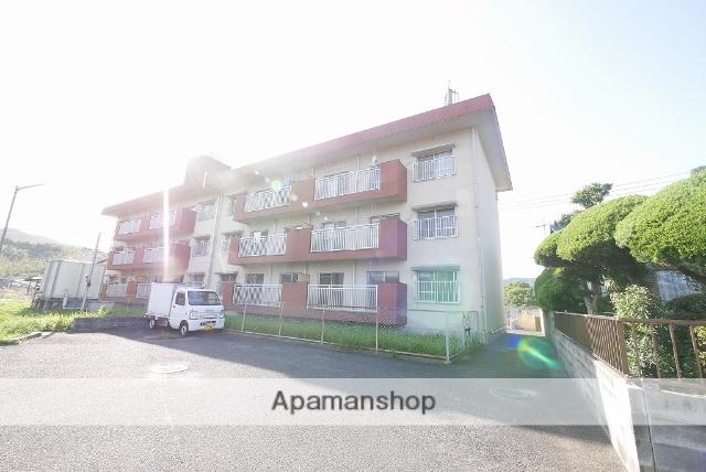 福岡県田川市、船尾駅徒歩13分の築32年 3階建の賃貸マンション