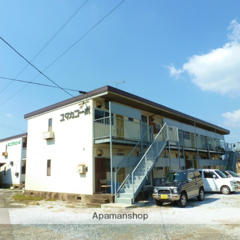 福岡県嘉麻市の築30年 2階建の賃貸アパート