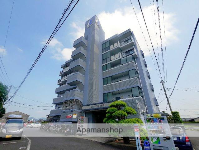 福岡県田川市、田川伊田駅徒歩7分の築25年 6階建の賃貸マンション