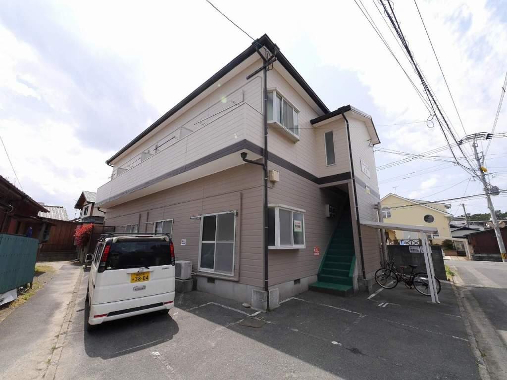 福岡県古賀市、千鳥駅徒歩27分の築25年 2階建の賃貸アパート