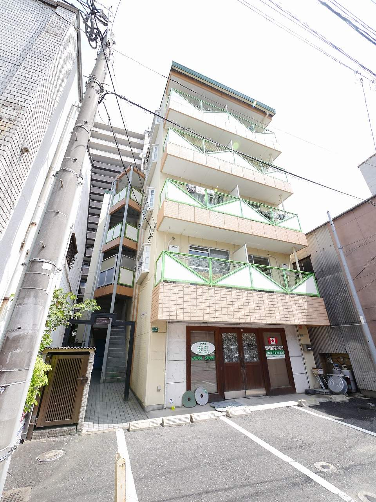 福岡県古賀市、古賀駅徒歩5分の築26年 5階建の賃貸マンション