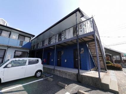 福岡県糟屋郡新宮町、福工大前駅徒歩12分の築20年 2階建の賃貸アパート