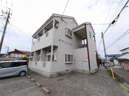 福岡県古賀市、千鳥駅徒歩16分の築21年 2階建の賃貸アパート