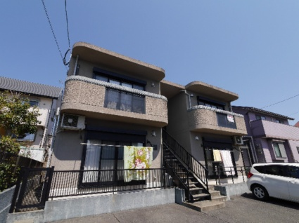 福岡県古賀市、千鳥駅徒歩8分の築10年 2階建の賃貸マンション